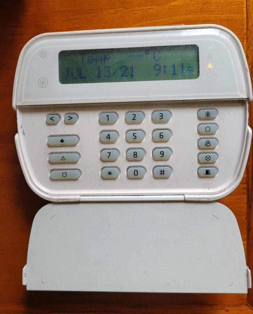 Wireless Alexor DSC Keypad